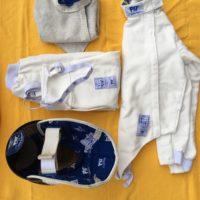 Vendo kit completo fioretto pbt fencing ragazzo 164 destro