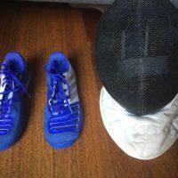 Spada: Kit scarpe e maschera