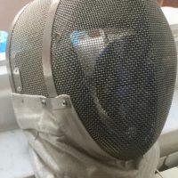 Maschera sciabola + guanto elettrico sciabola