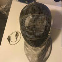 Maschera sciabola bimbo