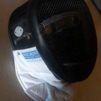 vendo maschera negrini fioretto taglia xs/s - circonf.