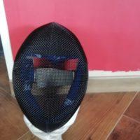 Maschera fioretto PBT 2019 ottime condizioni Taglia 1Plus