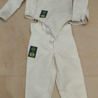 Divisa completa 800 mancina tg.44 eurofencing + pantalone 800negrini tg.46